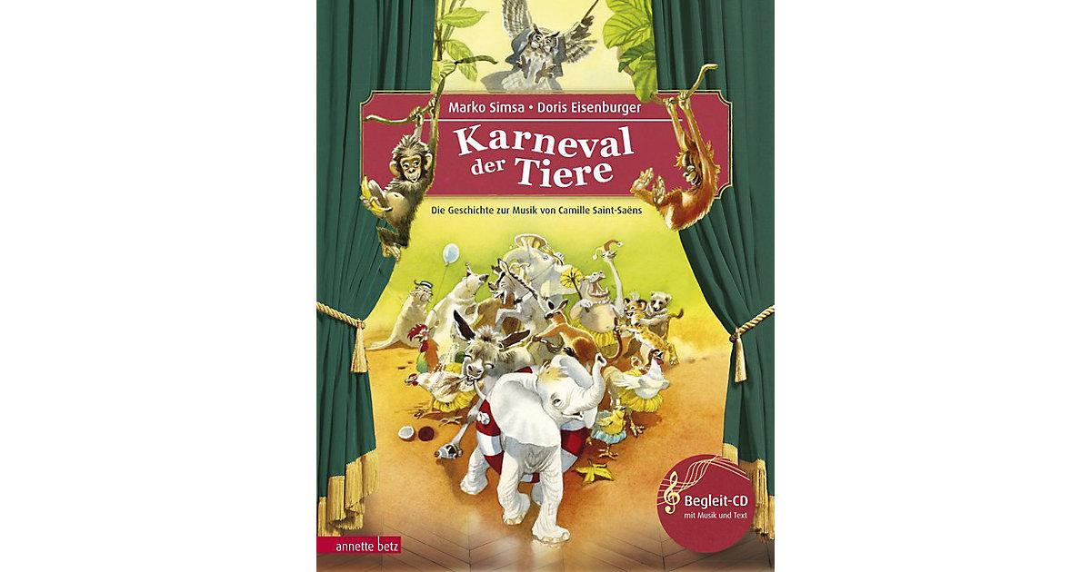 Der Karneval der Tiere, mit Audio-CD