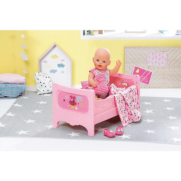 Baby Born Bett Mit Kuschelbettzeug Zapf Creation Mytoys