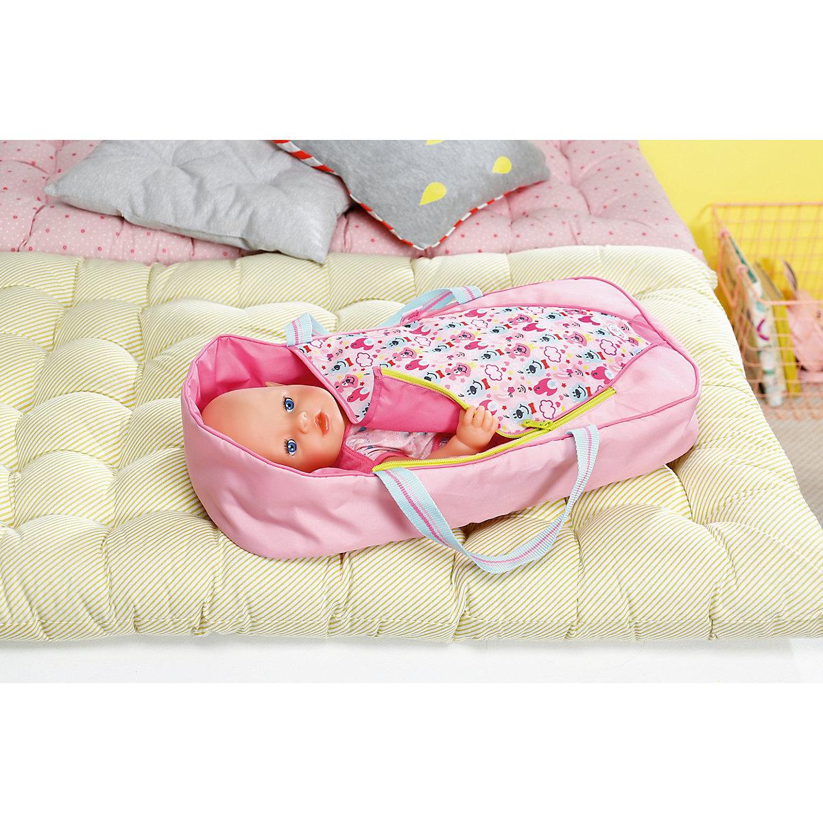 baby born schlaf und tragetasche baby born mytoys. Black Bedroom Furniture Sets. Home Design Ideas