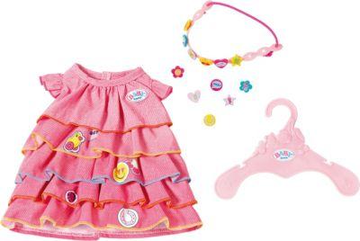 Baby Annabell Kleid Pink Rosa Kleiderbügel Für Die 46 Cm Puppe Neu Höschen