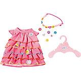 Платье и ободок-украшение BABY born