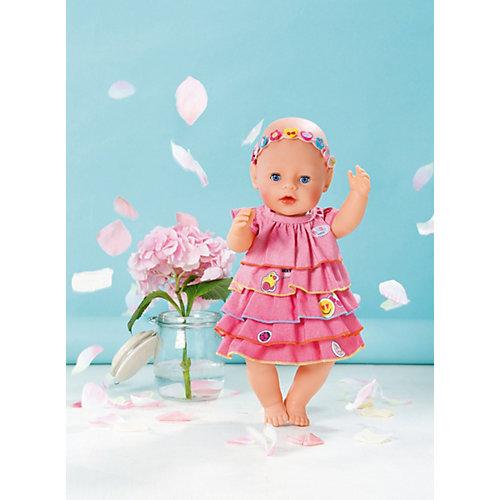 Платье и ободок-украшение BABY born от Zapf Creation