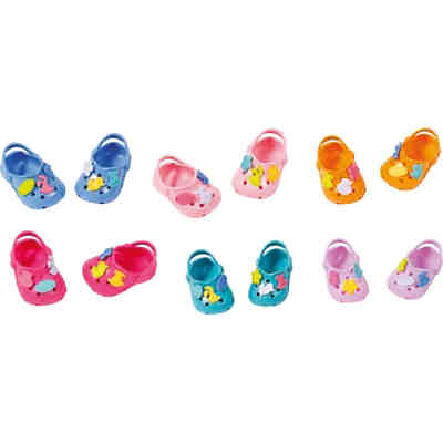 baby born clogs mit pins pink zapf creation mytoys. Black Bedroom Furniture Sets. Home Design Ideas