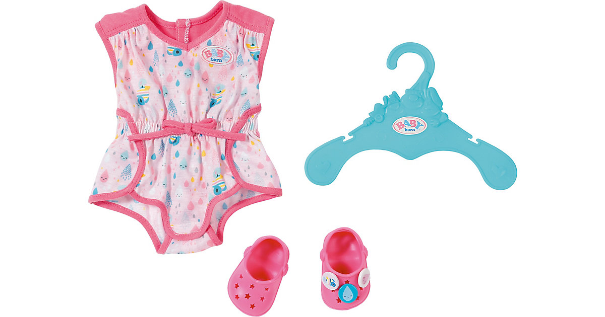 BABY born® Shorty Pyjama mit Clogs