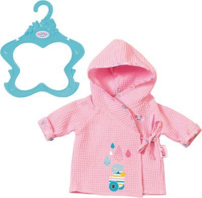 Puppenkleidung Für Baby Born 43cm Lila Bademantel Spielzeug