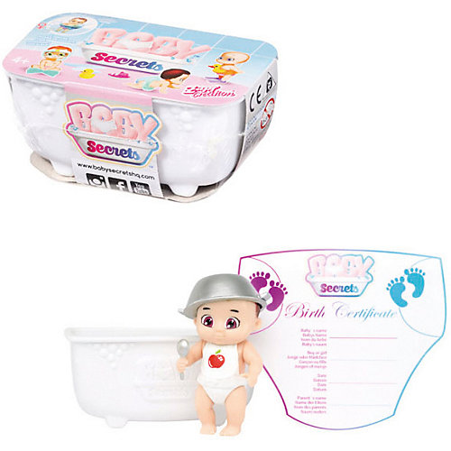 """Игрушка BABY Secrets """"Кукла с ванной"""" от Zapf Creation"""