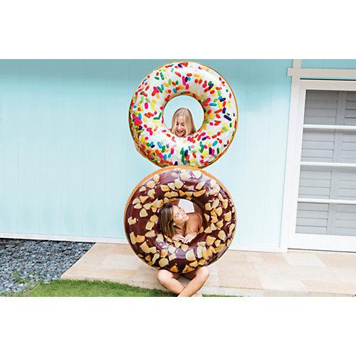 Большой надувной круг Intex Шоколадный пончик с глазурью от Intex