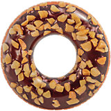 Большой надувной круг Intex Шоколадный пончик с орехами