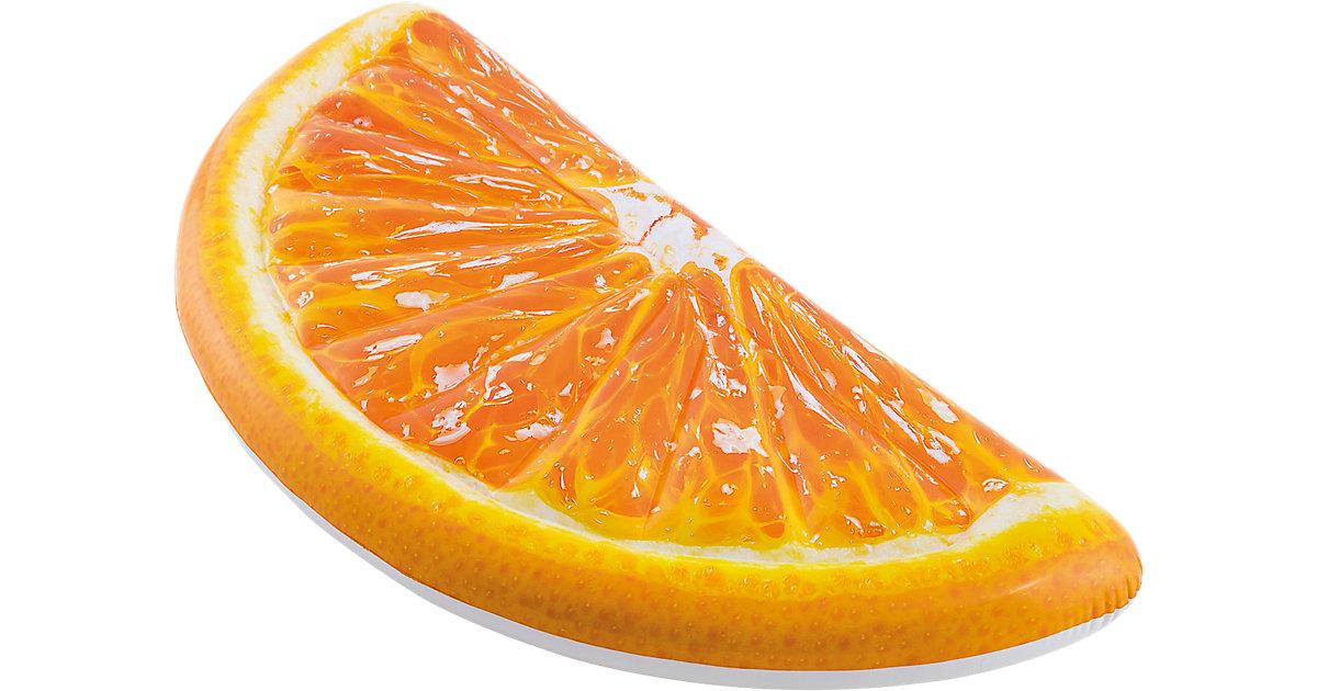 Luftmatratze Orangen-Stück, 178 x 85 cm orange