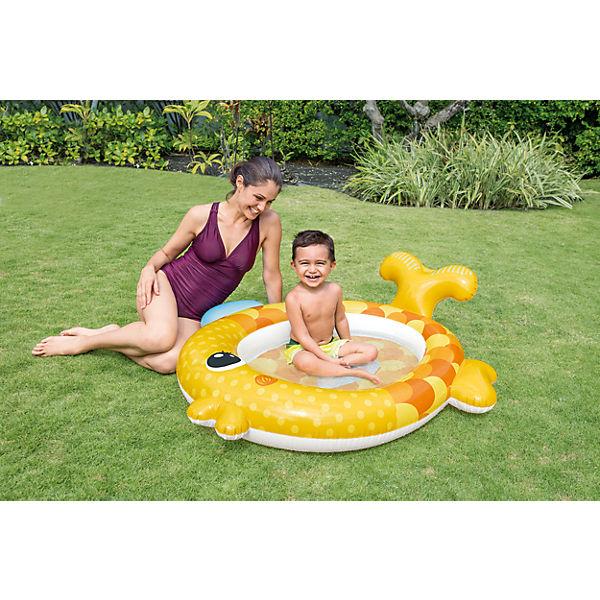 """Детский надувной бассейн """"Золотая рыбка подружка"""""""