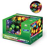 """Новогодняя электрогирлянда B&H """"Подарочки"""", 30 цветных микролампочек, 3 м"""