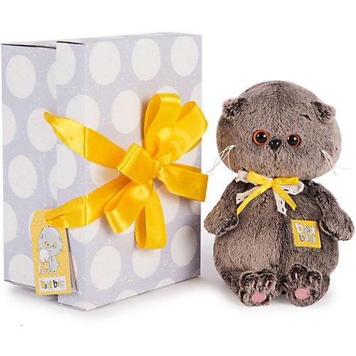 Мягкая игрушка Budi Basa Кот Басик Baby в сером пиджачке, 20 см от Budi Basa