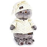 Мягкая игрушка Budi Basa Кот Басик в пижаме, 22 см