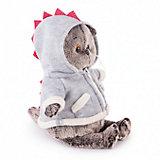 Мягкая игрушка Budi Basa Кот Басик в толстовке дракончик, 22 см
