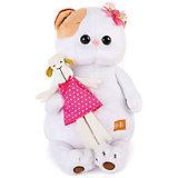 Мягкая игрушка Budi Basa Кошечка Ли-Ли с овечкой, 24 см