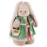 Мягкая игрушка Budi Basa Зайка Ми Зеленая полынь, 25 см