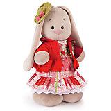 Мягкая игрушка Budi Basa Зайка Ми Маково-красный, 25 см