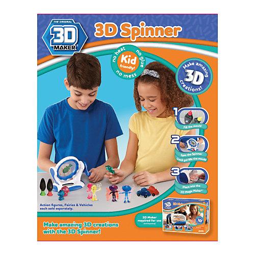 """Набор для творчества 3D Magic """"3D Spinner"""" для создания объемных фигурок от 3D Magic"""
