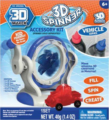 "Набор формочек 3D Magic ""3D Maker"", Машинки"