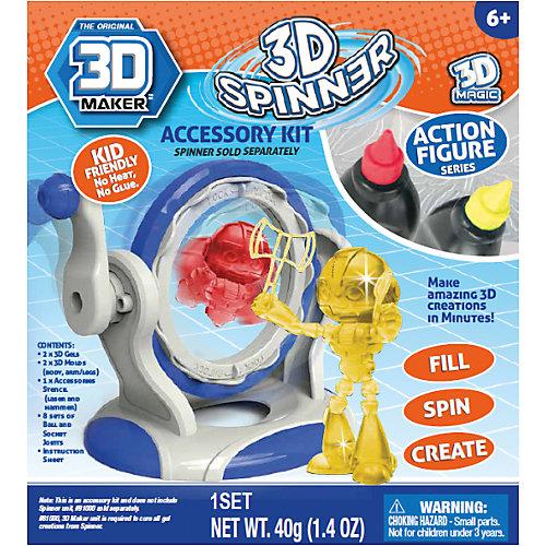 """Набор формочек 3D Magic """"3D Maker"""", Человечки от 3D Magic"""