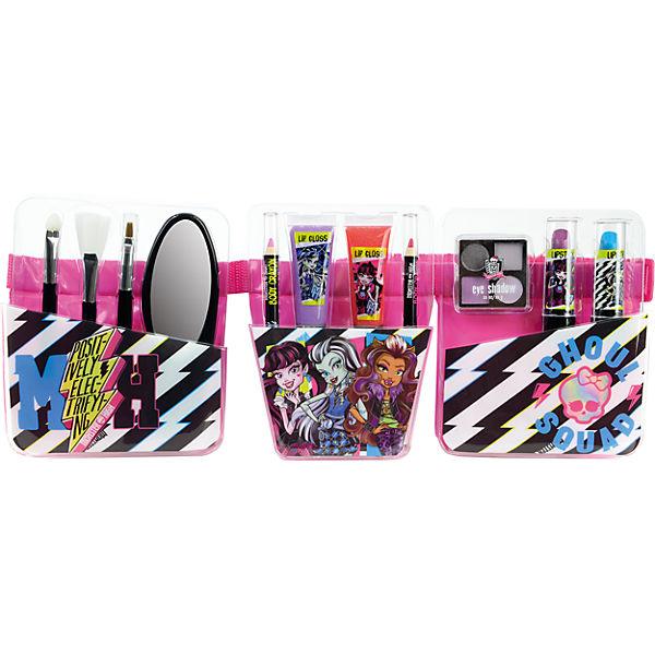 """Игровой набор Markwins Monster High """"Декоративная косметика с поясом визажиста"""""""