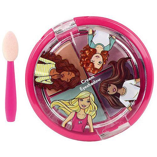 """Игровой набор Markwins Barbie """"Декоративная косметика"""" Тени для век, 4 цвета от Markwins"""