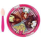 """Игровой набор Markwins Barbie """"Декоративная косметика"""" Тени для век, 4 цвета"""