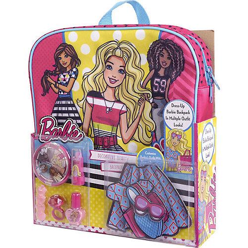 """Игровой набор Markwins Barbie """"Декоративная косметика"""" с рюкзаком от Markwins"""