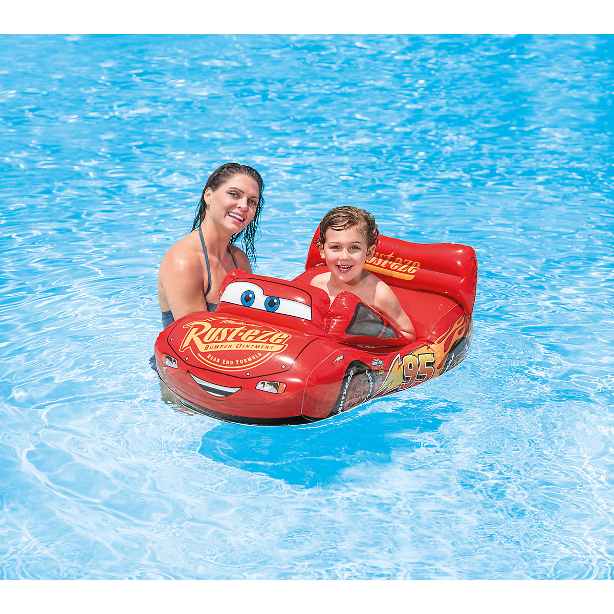 Schwimmhilfe PoolBoot Cars Disney Cars sbilQ