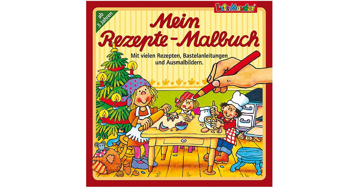 Mein Rezepte-Malbuch Weihnachten