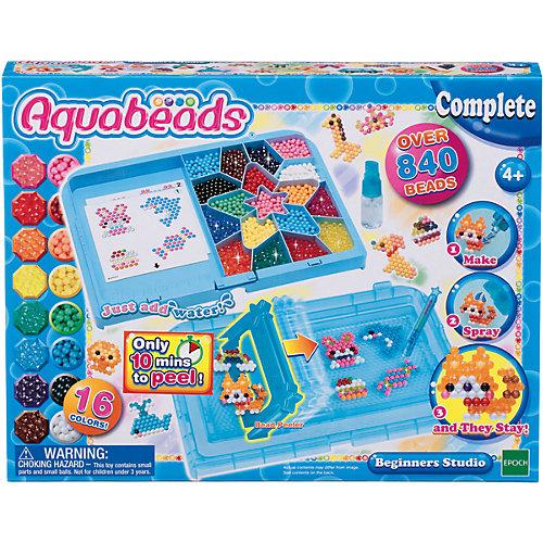 Мозаика из бусин Aquabeads Студия новичка 7236012 купить за 999 руб в интернет-магазине myToysru