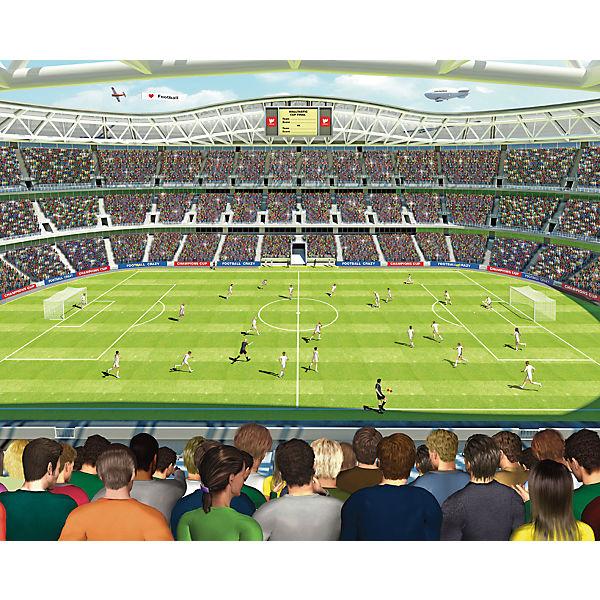 Fußballspiel Im Stadion