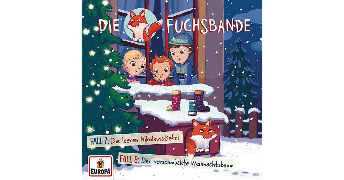 CD Die Fuchsbande 4 - Fall 7: Die leeren Nikolaustief Hörbuch