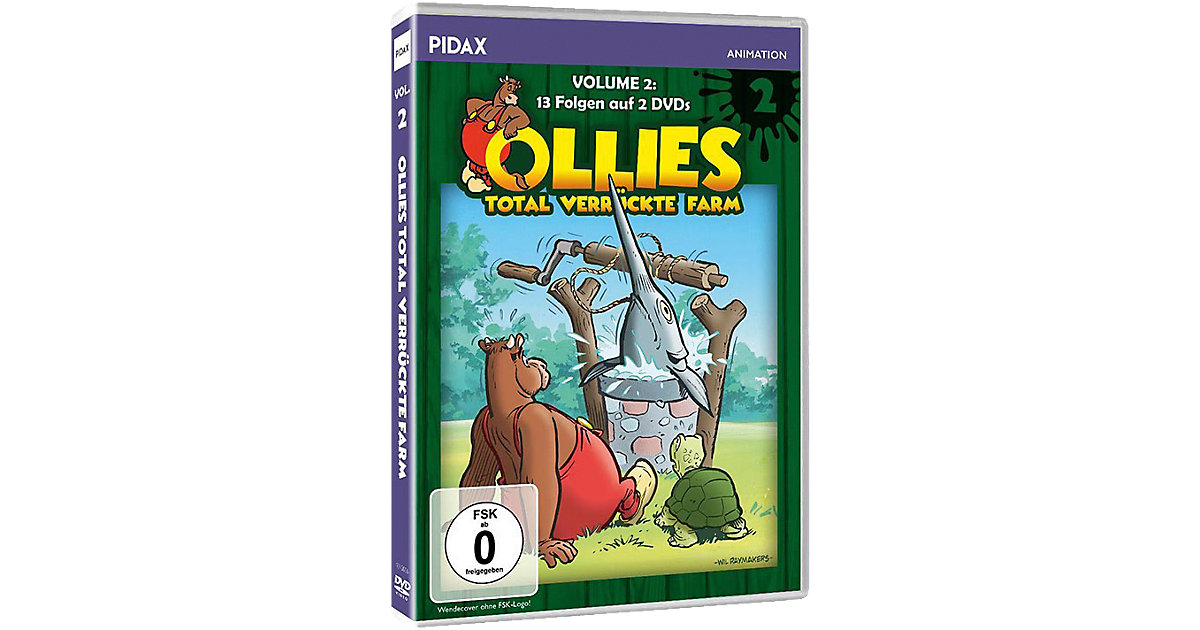 DVD Ollies total verrückte Farm, Vol. 2