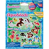 """Мозаика из бусин Aquabeads """"Забавные животные"""", 600 бусин"""