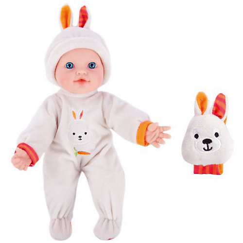 "Кукла-пупс с игрушкой зайкой Mary Poppins ""Моя первая кукла"", 30 см (звук) от Mary Poppins"