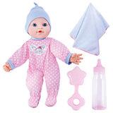 """Кукла-пупс Mary Poppins """"Моя первая кукла"""" Бекки-зайка в розовом, 30 см (звук)"""