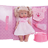 "Интерактивная кукла Mary Poppins ""Приучаемся к горшку. Лизи в розовом"", 30 см"