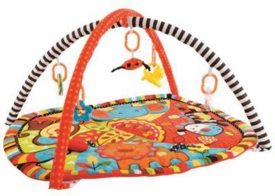 "Развивающий коврик с дугами Жирафики ""Ушастики"" с 6-ю игрушками"