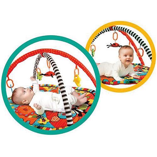 """Развивающий коврик с дугами Жирафики """"Ушастики"""" с 6-ю игрушками от Жирафики"""