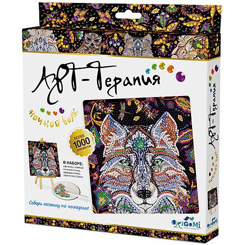 """Арт-терапия. Мозаика-алмазные узоры  """"Ночной Волк"""" арт. 03214 от Origami"""