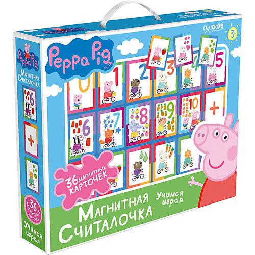 Свинка Пеппа.Наст.игра.Магнитная считалочка.02541