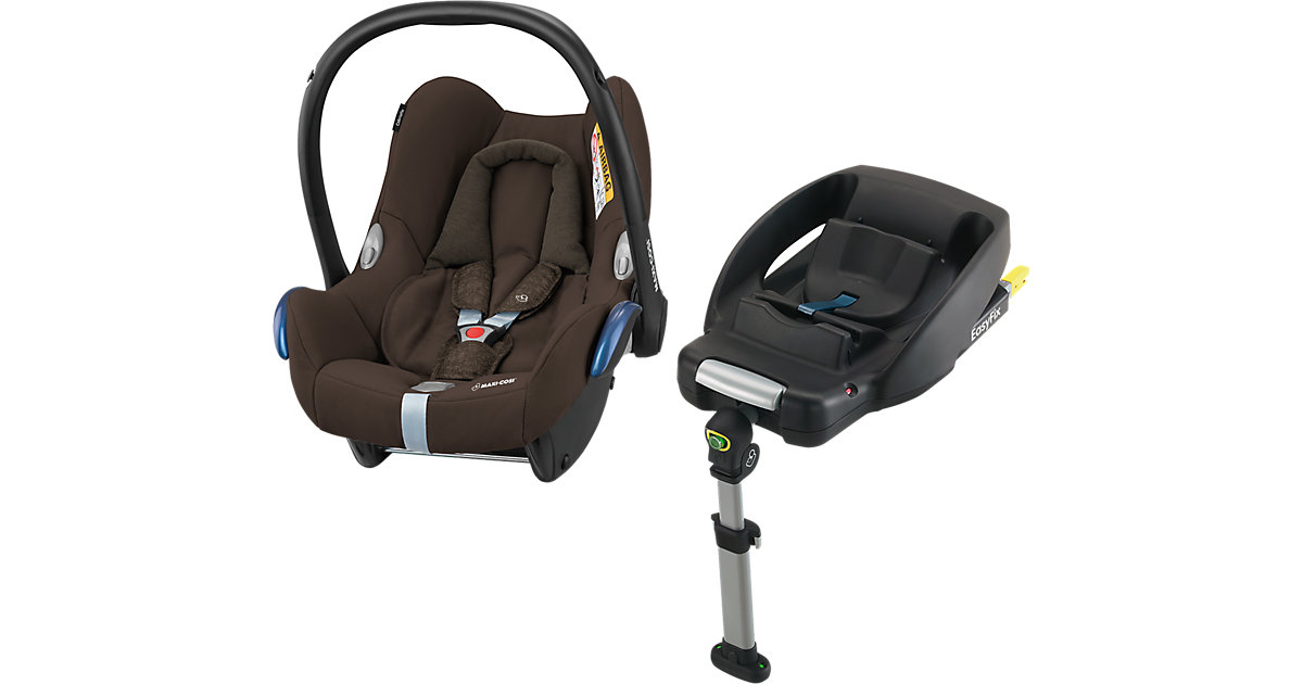 Babyschale Cabriofix, Nomad Brown, inkl. EasyFix, 2018 Gr. 0-13 kg