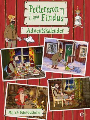 Pettersson und Findus: Adventskalender mit 24 Mini-Büchern, Pettersson und Findus
