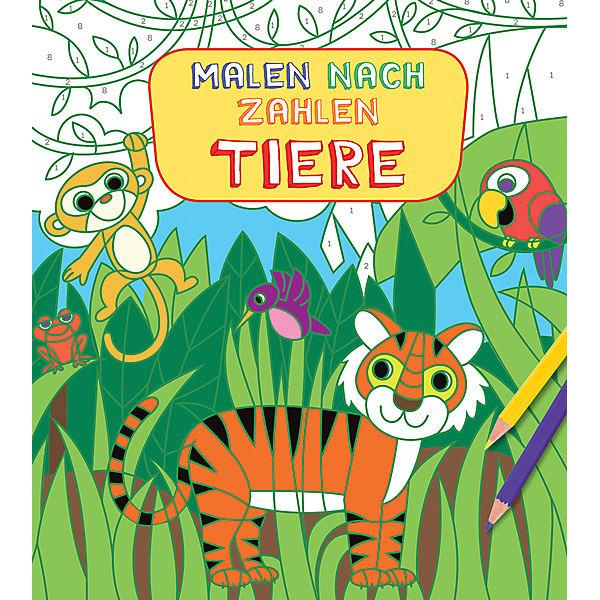 Malen nach Zahlen für Kinder: Tiere, h.f.ullmann Verlag | myToys