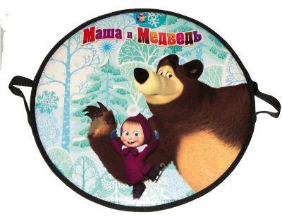 "Ледянка 1Toy ""Маша и Медведь"", круглая, 52 см"