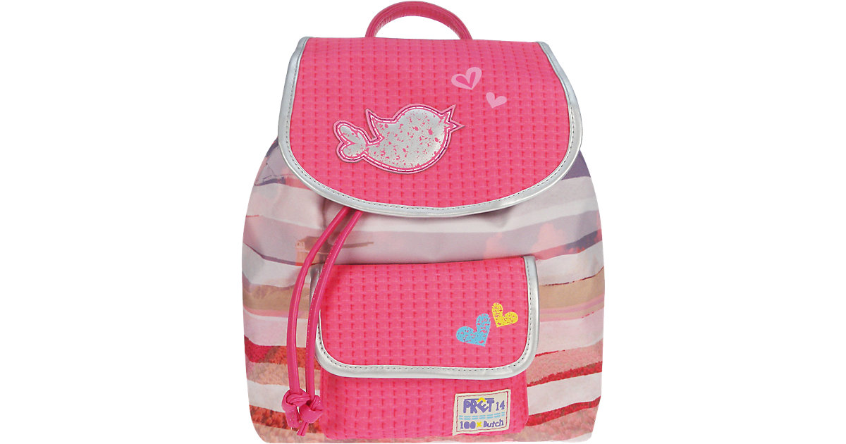 Kinderrucksack PRET Denimized pink/rosa