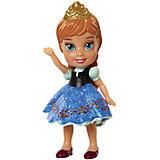 """Мини-кукла """"Холодное сердце"""" Анна в синем платье, 7.5 см"""