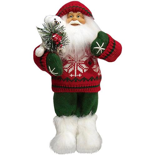 Дед Мороз в Красном Свитере, с Мишкой от Maxitoys