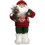Дед Мороз в Красном Свитере, с Мишкой